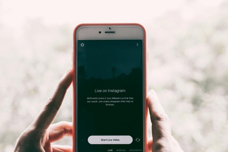 Comment réaliser un live sur Instagram?