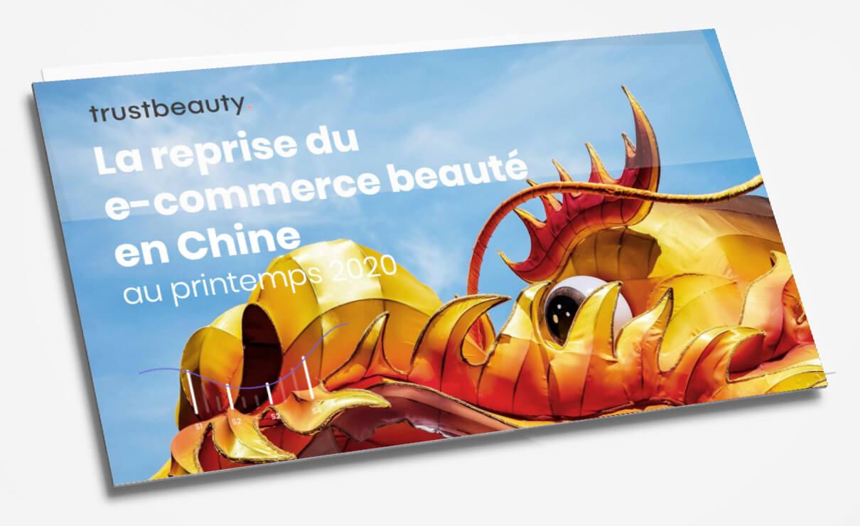 ebook sur la reprise du marche e-commerce beauté en Chine