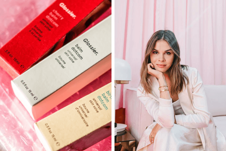 emily weiss influenceuse marque glossier cosmétiques