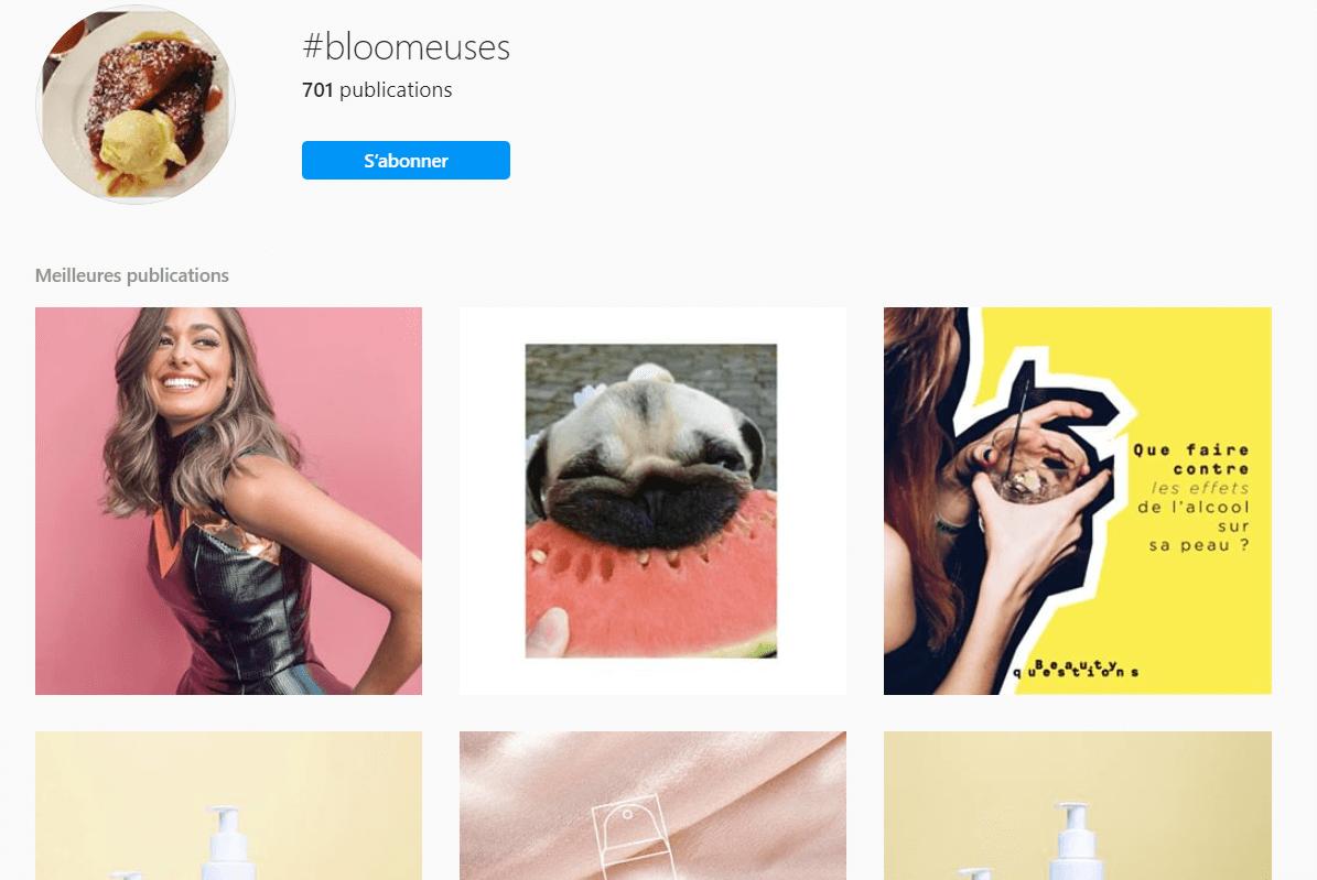 hashtags instagram utilisation création hashtag de marque nidé co