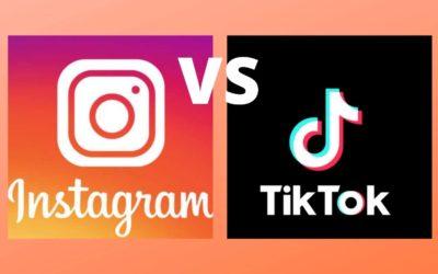 Instagram VS Tiktok : vers lequel se tourner pour partager du contenu ?