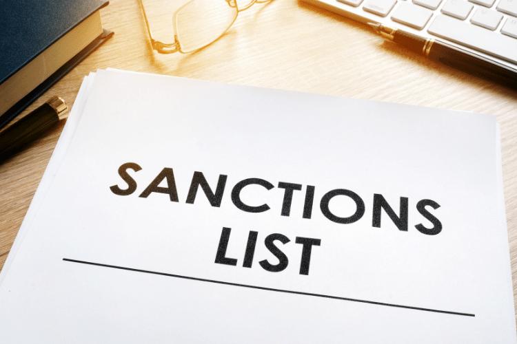 Sanctions list