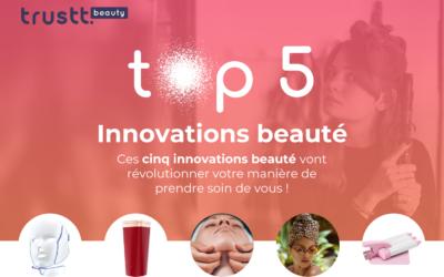 Top 5 des innovations beauté qu'on adopte en 2021 !